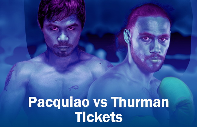 Pacquiao thurman titckets boxing