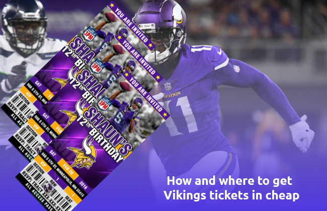 where to get Vikings tickets in cheap
