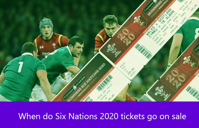 Six Nations Rugby tickets